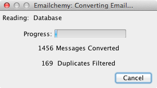 Emailchemy's New De-Duplication Feature