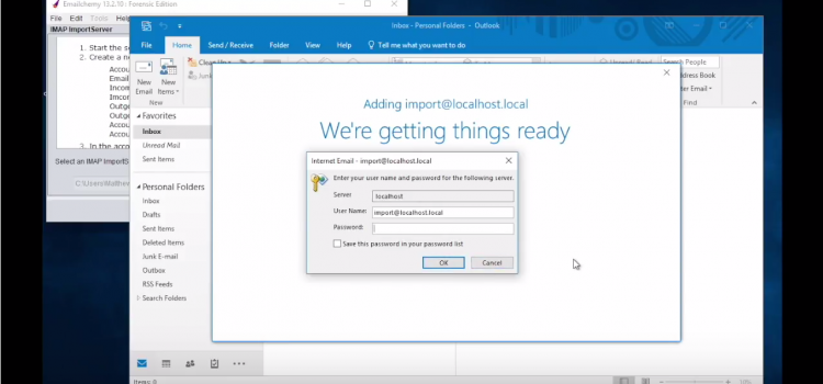 Video How to Import Mail into Outlook for Windows
